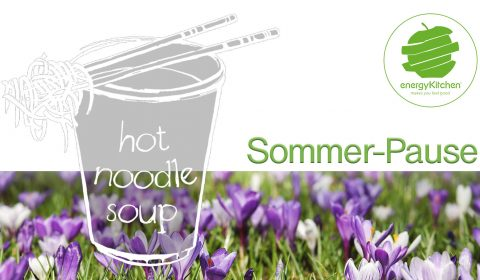 Hot Noodle Soup Sommer Pause