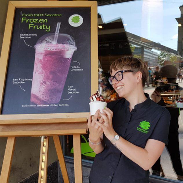 Anna Jaun - Service Mitarbeiterin Energy Kitchen Café-Bar