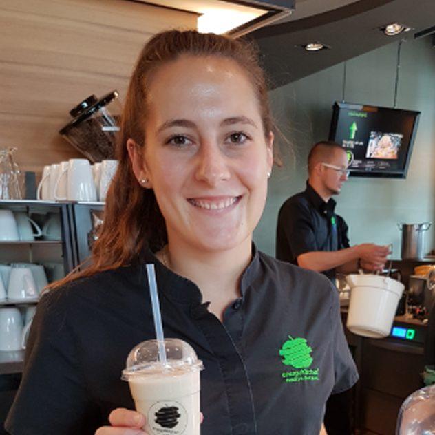 Energy Kitchen Service Mitarbeiterin Andrea Steck