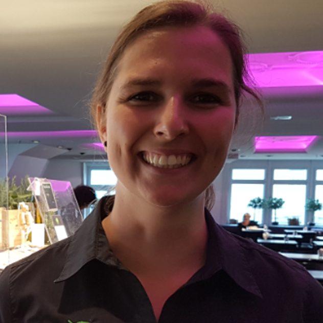 Energy Kitchen Service Mitarbeiterin Ramona Zoss