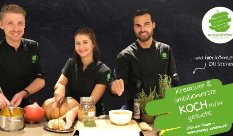 Kreativer Koch gesucht - Energy Kitchen
