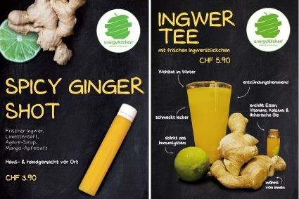 Energy Kitchen Plakate Ginger Products