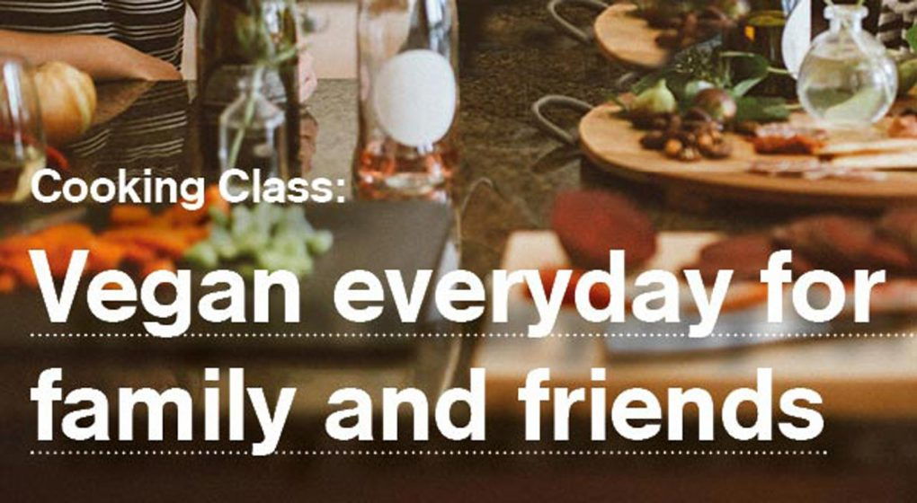 Vegan Cooking Class Energy Kitchen Event