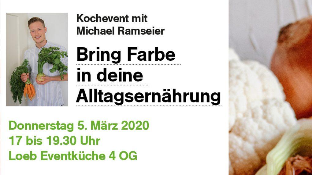 Kochevent I Michael Ramseier I Showkücher I 5. März 2020