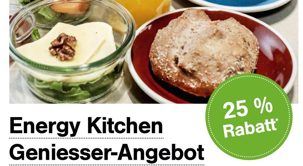 Energy Kitchen Geniesser-Angebote mit 25% Rabatt